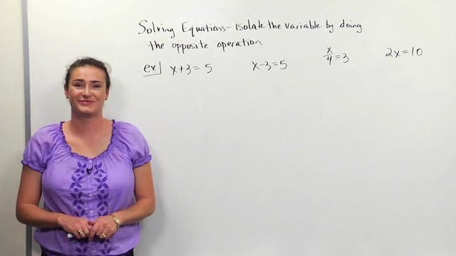Solvling fraction equations