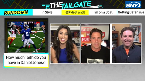 The Tailgate: Kyle Brandt joins the show and gives his take on Giants QB Daniel Jones