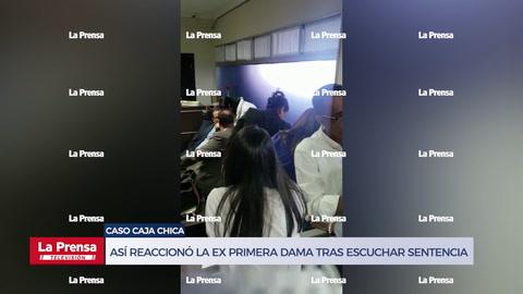 Así reaccionó la ex primera dama de Honduras tras escuchar la sentencia en su contra