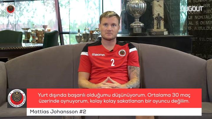 Mattias Johansson Özel Röportajı