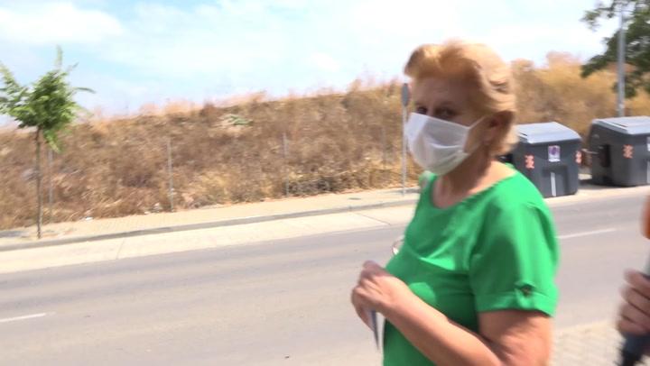 EXCLUSIVA: Primeras imágenes de Carmen Bazán, muy emocionada, tras el fallecimiento de Humberto Janeiro