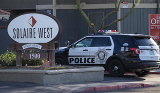 Woman's throat slashed in Las Vegas attack