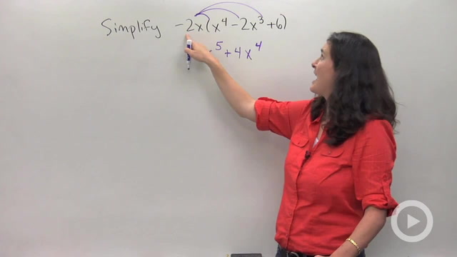 Multiplying Larger Degree Polynomials using Distributing - Problem 1
