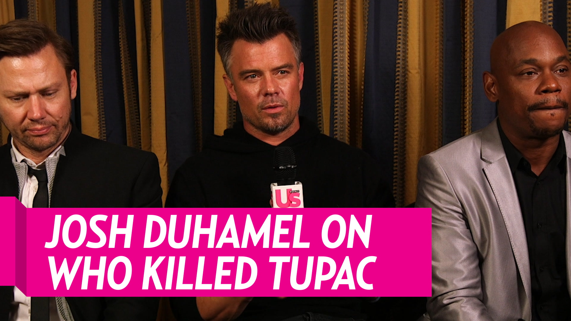 Josh Duhamel On Tupac And Biggie's Murders - 'We All Know What Happened'