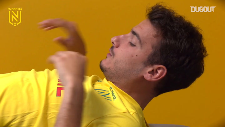 Pedro Chirivella's first day as an FC Nantes player