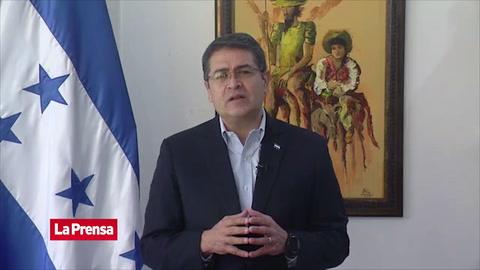 Presidente Juan Orlando Hernández rechaza que Honduras sea un