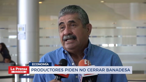 Productores piden no cerrar BANADESA