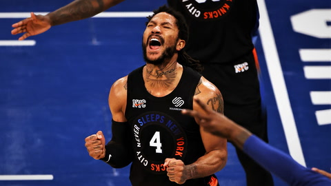 Begley details Knicks' Game 2 win over Hawks
