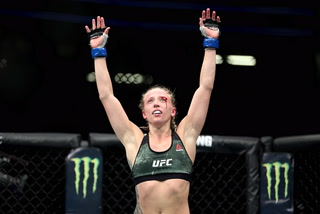UFC strawweight Emily Whitmire says she sees what Robert Follis tried to help her realize