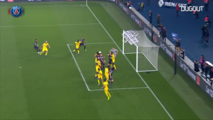 Kylian Mbappé's winner vs Nantes in 2018-19