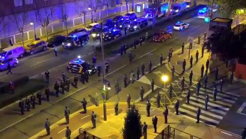 Rinden homenaje a Jesús Gayoso, jefe de unidad antiterrorista de España muerto por coronavirus