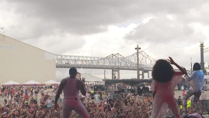 "Big Freedia Performs ""Excuse"" at BUKU Fest"