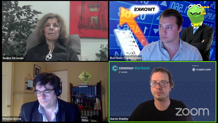 Ask Them Anything: Deplatforming, Crypto and Censorship Resistance