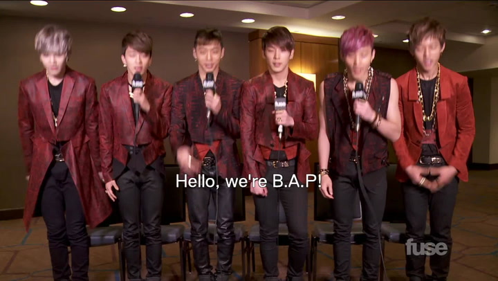 Interviews: K-Pop Boy Band B.A.P Talk U.S. Tour, Food & Fans