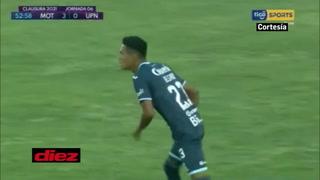 Juan Ángel Delgado marca su primer gol con la camisa de Motagua en juego ante la UPN