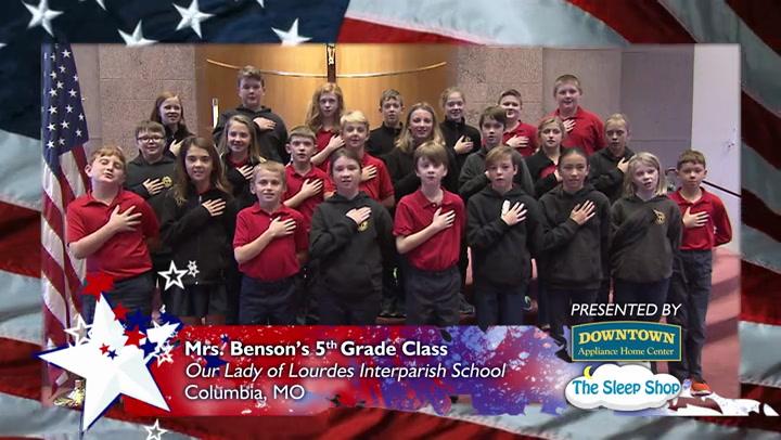 Our Lady of Lourdes Interparish School - Mrs. Benson - 5th Grade