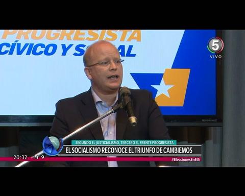 Lifschitz reconoció un triunfo claro de Cambiemos en Santa Fe y felicitó a Macri