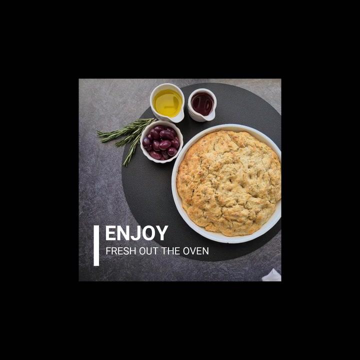Preview image of Barrett's Ridge Olive & Rosemary Focaccia Bread Mi video
