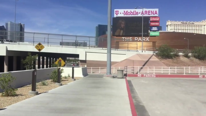 MGM's new Excalibur parking garage   Las Vegas Review-Journal