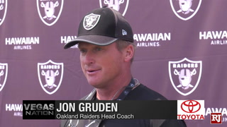 Raiders React to Fifth Day of Training Camp