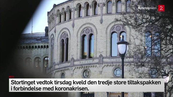 Stortinget kommer med økonomisk tiltakspakke til kommune