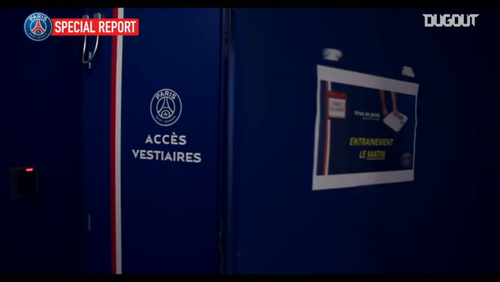 Relive Kylian Mbappé's first day as PSG player