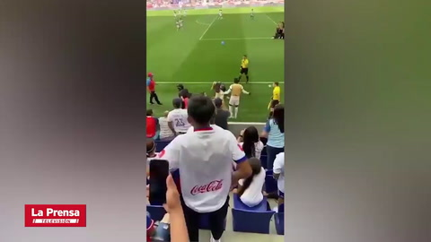 Video muestra lo que provocó la vergonzosa pelea entre Olimpia y Motagua en New Jersey