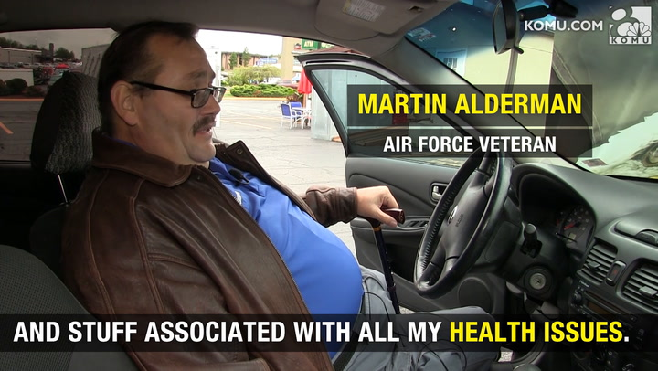 Air Force veteran gets car from Army vet