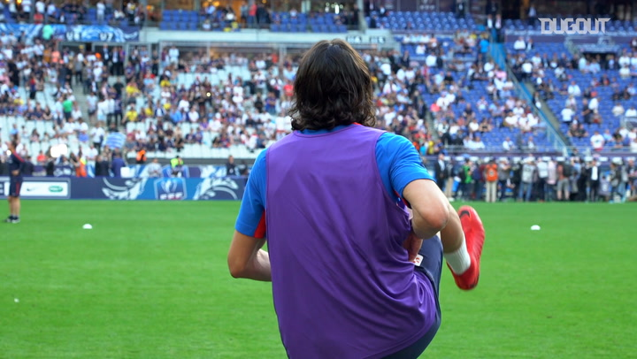 Cavani's French Cup Final