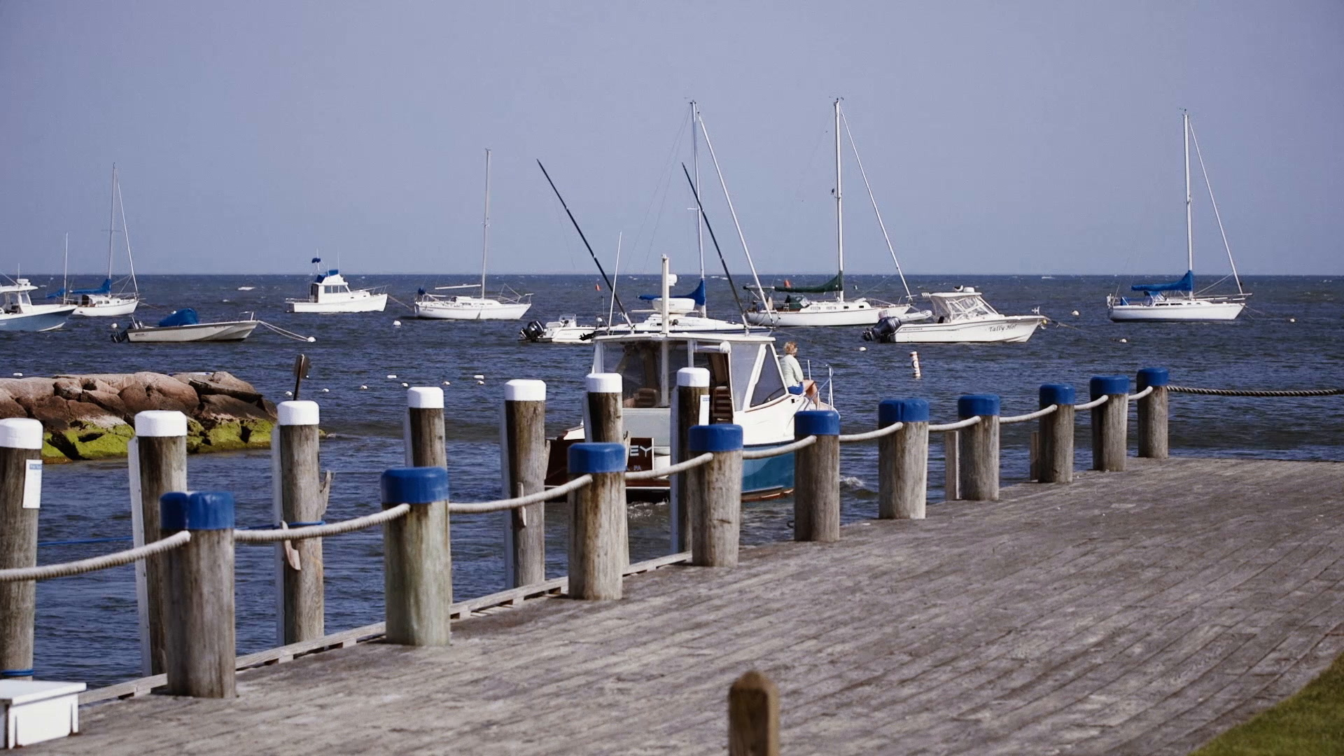 Nina + Ben | Barnstable County, Massachusetts | Wychmere Beach Club