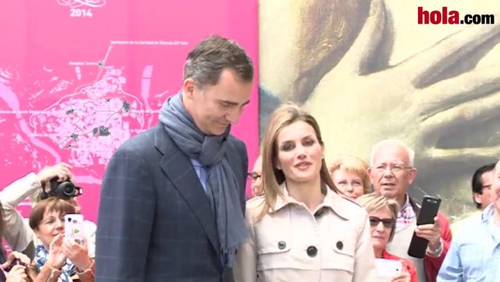 La visita de los Príncipes de Asturias a Toledo en su décimo aniversario