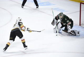 Golden Edge: Knights Beat Wild In Shootout