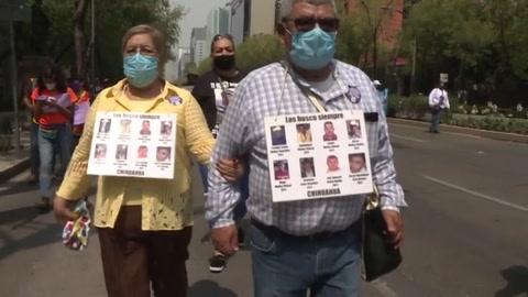 ¡¿Dónde están nuestros hijos!, gritan mujeres en México en el Día de la Madre.mp4