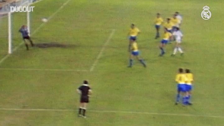 Hugo Sánchez's goals in LaLiga during the 1989-90 season - Part II