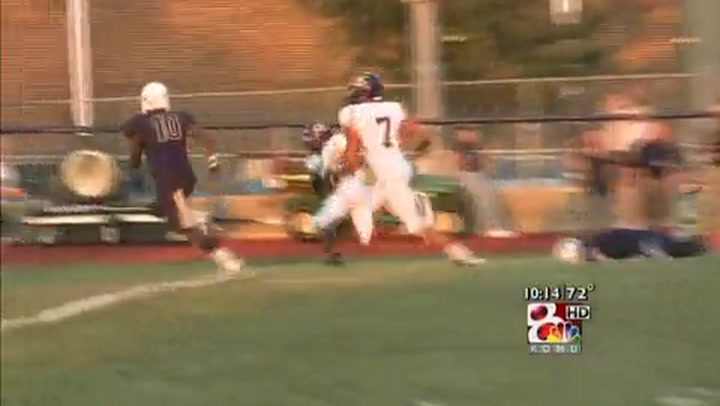 Hickman at Holt FNF Week Two