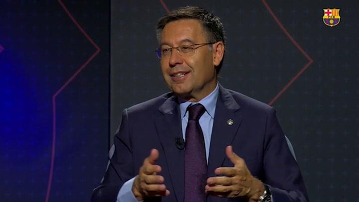 Bartomeu no se volvería a presentar como presidente del Barça