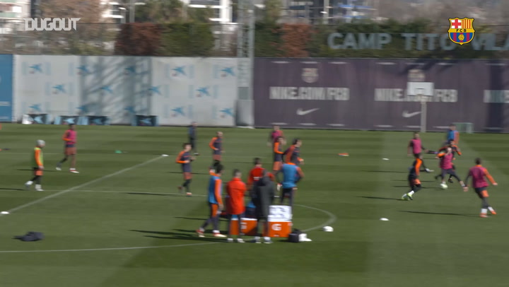 Barça trial goal-line technology in training!