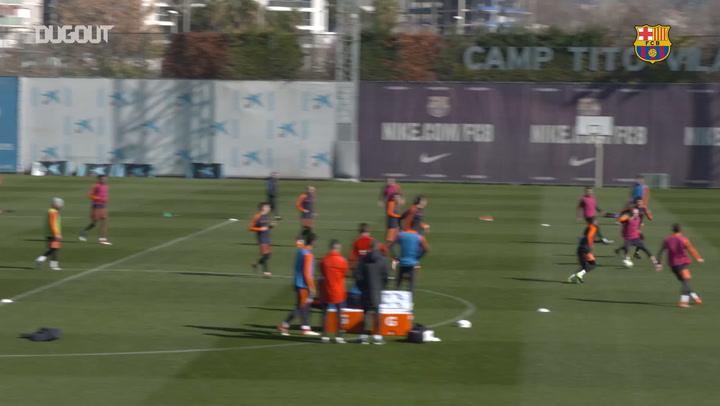 Barça trial goal-line technology in training!