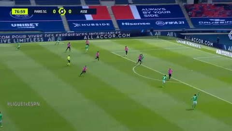 PSG 3-2 Saint-Étienne (Ligue 1)