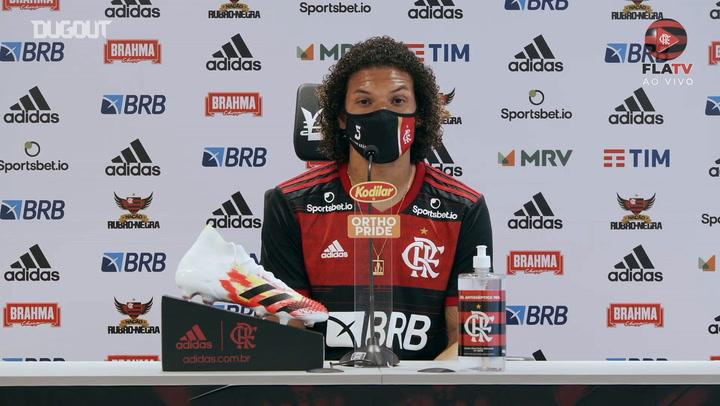 Willian Arão analisa Atlético-MG, rival da estreia do Flamengo