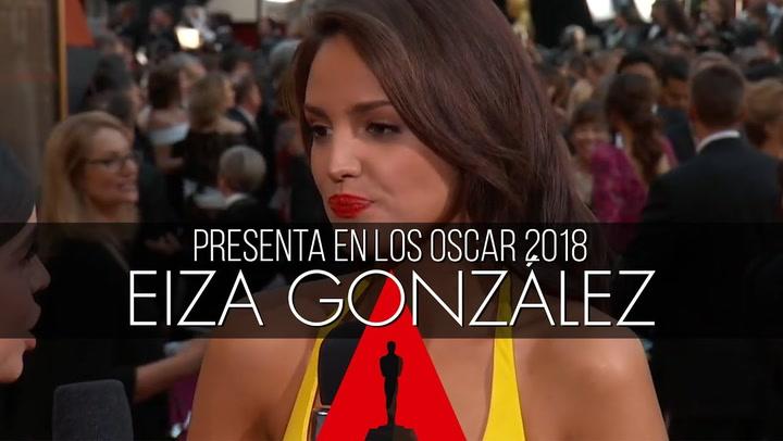La emoción de EIZA GONZÁLEZ, la mexicana que ha cumplido un gran sueño
