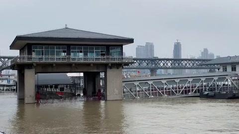 Lluvias récord en China, las más intensas desde 1961