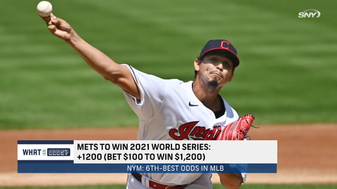 What are the Mets' World Series odds after trading for Francisco Lindor and Carlos Carrasco?