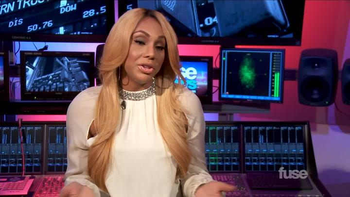 "Tamar Braxton on John Legend Tour & ""All the Way Home"""