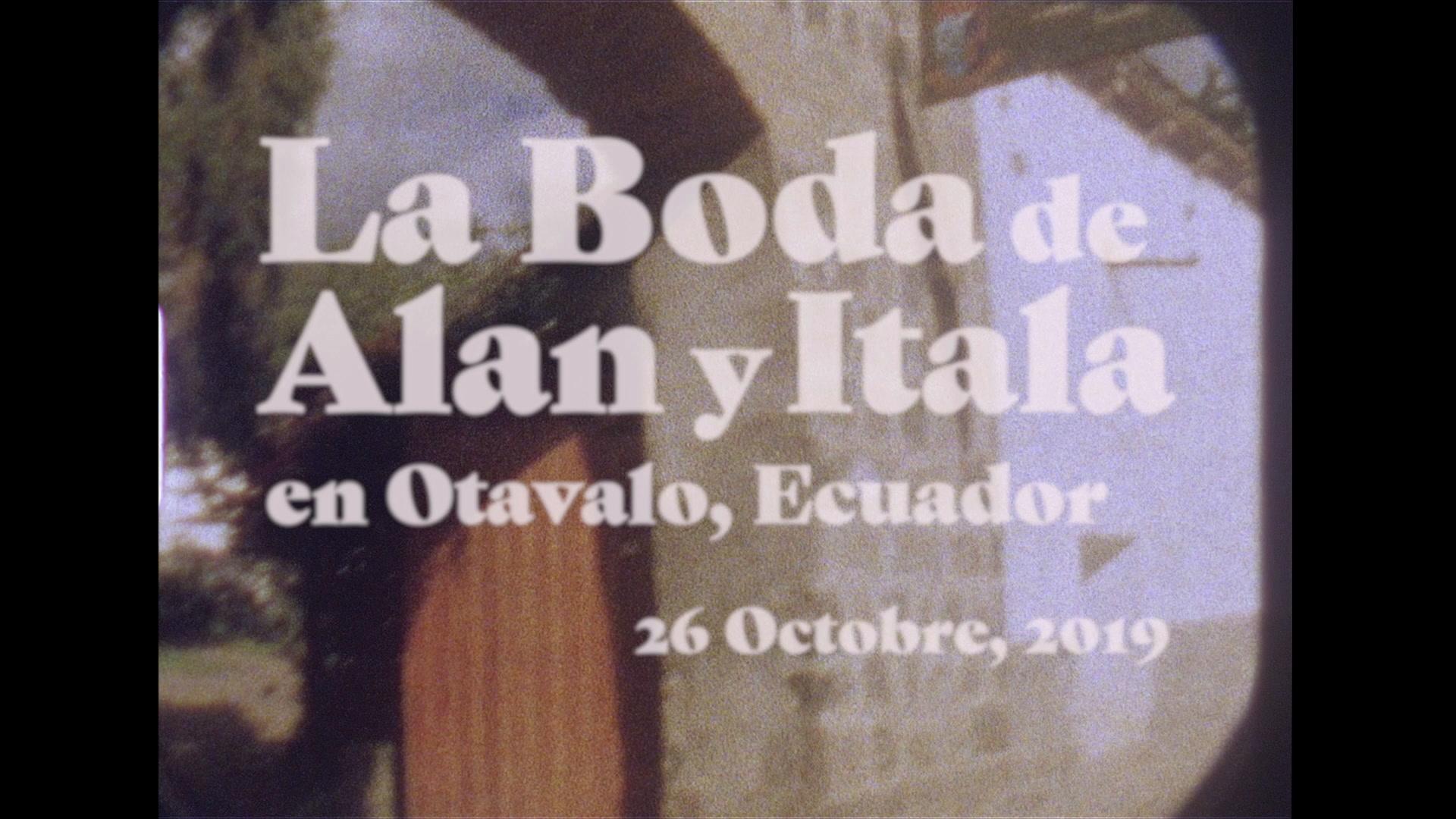 Itala + Alan | Otavalo, Ecuador | Hacienda Cusin
