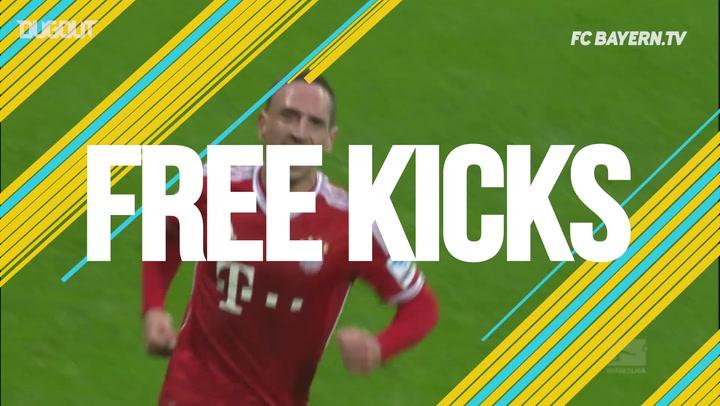 Free-Kicks: Ribéry's Thunderbolt against Augsburg