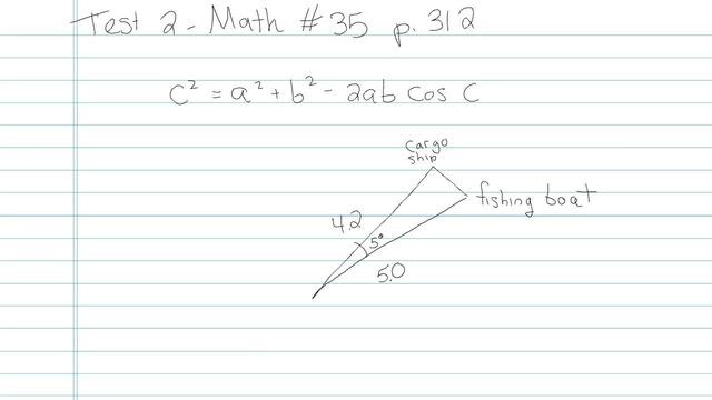 Test 2 - Math - Question 35