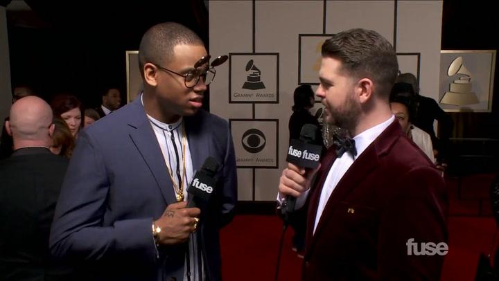 """Mack Wilds on """"Best Urban Contemporary Album"""" Win on GRAMMY Red Carpet"""