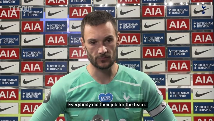 Lloris: 'Now we need to step up away from home'