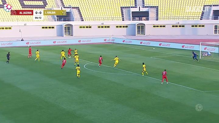 Highlights: Ittihad Kalba 0-6 Al-Jazira